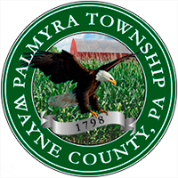 official crest of palmyra township, wayne county, pennsylvania
